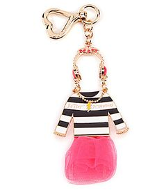 Betsey Johnson Little Dress Dangle Bag Charm #Dillards