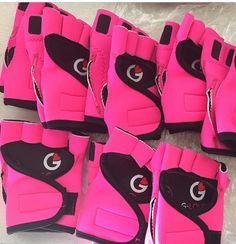 Pink makes the boys wink.  True story.  My mum told me so it must be.  Best gym gloves ever!  #g_loves #pink #pinkgloves #activewear #bodypump #bringiton #bodyattack #bikinimodel #bodybuilding #becauseiworkout #bestgymglovesever #bestcycleglovesever #betterthanchocolate #chickswholift #chickswithmuscle