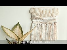 Prima DT project-July PPP challenge Fiber arts woven wall hangingAideen k vistas Babe Cave, Textiles, Macrame Tutorial, Woven Wall Hanging, Loom Weaving, Loom Knitting, Crafts To Do, Handmade Crafts, Textile Art