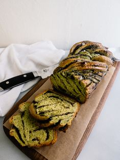 Matcha Black Sesame Babka Recipe — Fix Feast Flair
