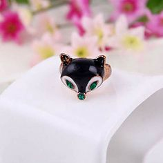 Fox Head Ring Super Meng Ring Vrouwen Ringen R233 Creative Personality 2015 – €0.94