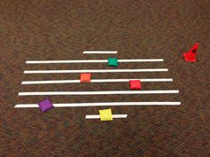 Bean Bag toss for note identification Music Education Lessons, Music Lessons, Physical Education, Health Education, Music Activities, Music Games, Movement Activities, Music Music, Reading Music