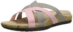 crocs Women's Edie Stretch Sandal Dress Sandal, Platinum/Pearl Pink, 11 M US ** More info could be found at the image url.