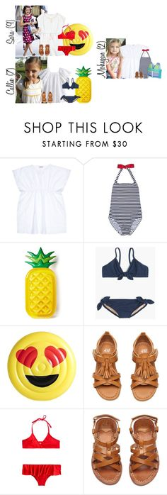 """Tuesday // Happy 4th of July! // 7.4.17"" by graywolf145 ❤ liked on Polyvore featuring Babywalker, J.Crew, Floatie Kings and GrayWolfFamily"
