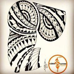Resultado de imagem para tatuagens marajoara