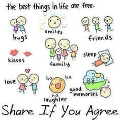 Best thing in life is free