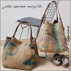 Best 12 European grain sack bag and market tote Burlap Bags, Jute Bags, Burlap Purse, Sacs Tote Bags, Reusable Tote Bags, Sac Vanessa Bruno, Sack Bag, Boho Bags, Linen Bag