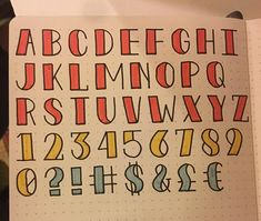 I drew out a full alphabet of the simple gridded title lettering I've been using lately in case anyone wants to use it! Easy Caligraphy, Caligraphy Alphabet, Hand Lettering Alphabet, Bullet Journal Fonts, Bullet Journal Ideas Pages, Bullet Journal Inspiration, Lettering Tutorial, Lettering Design, Tittle Ideas