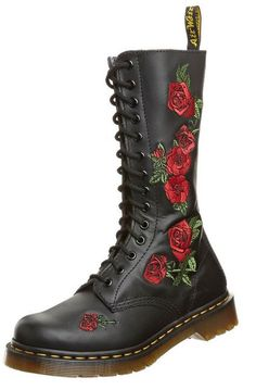 Martens VONDA - Lace-up boots - black rose for with free delivery at Zalando 9cc1cc3c3764