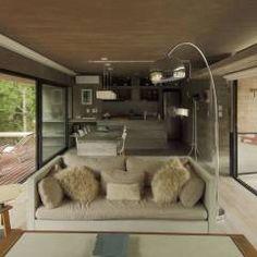 Casa S&S: Livings de estilo minimalista por Besonías Almeida arquitectos