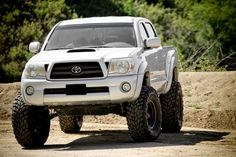 Wheels - Konig Countersteer Offroad / FN Wheels Five Star - Toyota Forum - Largest Forum Toyota Tacoma 4x4, Tacoma Truck, Toyota Hilux, Toyota Trucks, Chevy Trucks, Lifted Cars, Lifted Jeeps, Truck Design, Big Trucks