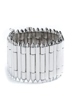 Eddie Borgo Bicone Hinged Bracelet available at #Nordstrom