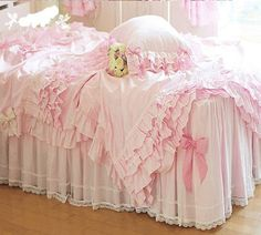DIAIDI,Luxury Lace Ruffle Bedding Sets, Romantic Pink Princess Duvet Cover Set,Wedding Bed Cover Set,Queen Size,4Pcs (QUEEN) FADFAY http://www.amazon.com/dp/B00CFV6JL6/ref=cm_sw_r_pi_dp_Q1YAub0CY86N4