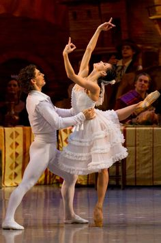 "Natalia Osipova and Ivan Vasiliev, ""Laurencia"", Mikhailovsky Ballet Ballet Bolshoi, Ballet Couple, Ballet Pictures, Dance Pictures, Male Ballet Dancers, Ballet Performances, Princess Tutu, Ballet Beautiful, Dance Outfits"