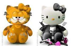 Garfield and Punisher