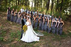YESSS fantastic. tye dye bridesmaid dresses
