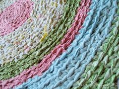 rag rug up close by merwing✿little dear, via Flickr