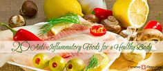 20 Anti-Inflammatory Foods for a Healthy Body