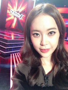 Baek Ji Young teases with commemorative shot from the set of 'Voice Korea Baek Ji Young, All About Kpop, Korean Celebrities, Movie Tv, The Voice