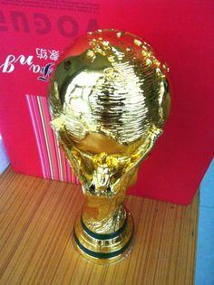 オリジナルサイズ36センチブラジルワールドカップトロフィーカップ1:1にリアルwm-pokalレプリカ2014ブラジルワールドカップ最高のサッカーファンギフト