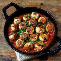 Chicken and Sun-Dried-Tomato Meatballs    Food & Wine