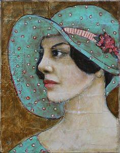 Jane Spakowsky DesRosier (aka Gritty Jane) - Her Spring Bonnet