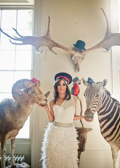 A Unique Extraordinary & Eccentric Bridal Shoot