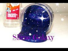 DIY Slime Galaxy - Très facile à faire - YouTube