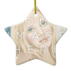 Instagram Photo Star-Shaped Image Ornament #colorbindery #zazzle #customizable #giftideas