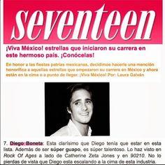 Diego Boneta Group: [NOTA] ¡Viva México! estrellas que iniciaron su ca...