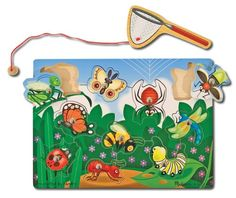 Melissa And Doug Melissa and Doug Bug-Catching Magnetic Puzzle Game Melissa & Doug http://www.amazon.com/dp/B00272N8JE/ref=cm_sw_r_pi_dp_ZEGZwb0C2CKPQ