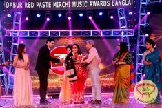 The Mirchi Music Awards Bangla 2017 was held recently and was attended by eminent musicians.