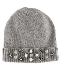 Sparkling embellishments and a slouchy shape combine in this cozy alpaca-blend beanie for the ultimate casual statement piece. Winter Hats For Women, Women Hats, Stylish Hats, Fashion Plates, Beanies, Diy Clothes, Soft Fabrics, Earrings Handmade, Autumn Winter Fashion