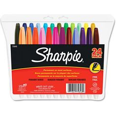 Sharpie Fine Point Permanent Markers, Assorted