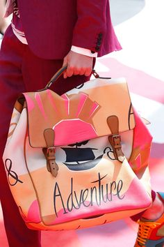 Adventure Luggage Bag by Burberry Prorsum S/S 2015