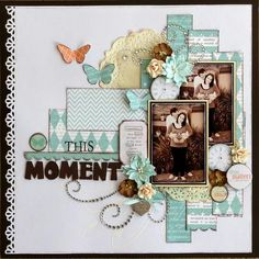 #papercraft #scrapbook #layout  Valerie Ann Thorpe - paper people