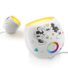 Disney Mickey & Minnie Mouse Led LivingColors Mini by Philips New with Box