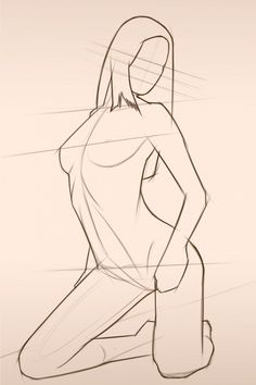 .Female Gesture Pose References