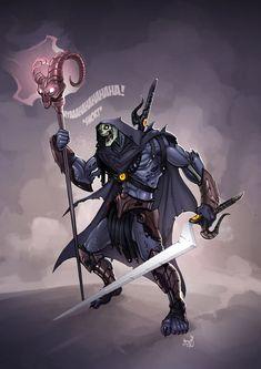 Skeletor by Megan Berry *