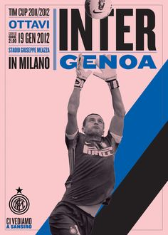 Poster campaign for Inter Milan football club by Leftloft
