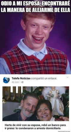 Nada le sale bien a Bad Luck Brian...