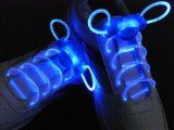 Led Shoelace Light up Shoe Flashing Blue Color 1 Pair, 2 Extra Battery - Jayden Gift