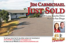 Call us 619-670-6663 Carmichael Homes for all of your real estate needs!!