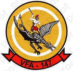 M.C. Graphic Decals - STICKER USN VFA 147 Argonauts, $3.00 (http://www.mcgraphicdecals.com/sticker-usn-vfa-147-argonauts/)