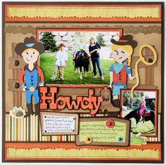 Howdy,Pardner! #Cricut