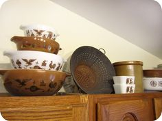 Pyrex Collective II: Early American Collection