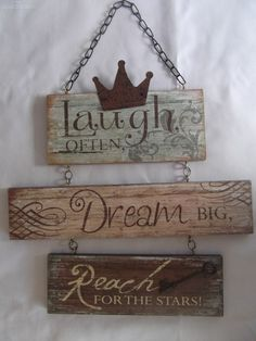 Country Timber Inspirational Hanging Sign by justcountryhomewares - $18.00