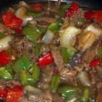 Mom's Pepper Steak