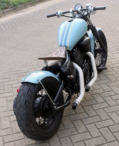 Honda Shadow bobber by Andy Prawira