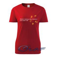 0d360652083 dámske tričko  Alkohol obsahuje málo vitamínov